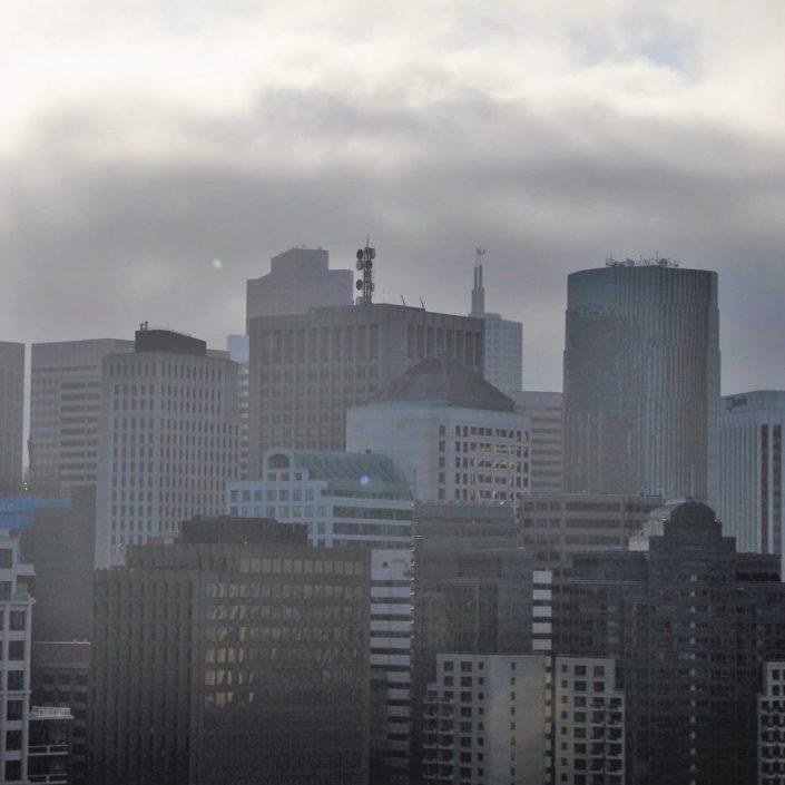 Downtown San Francisco City Skyline