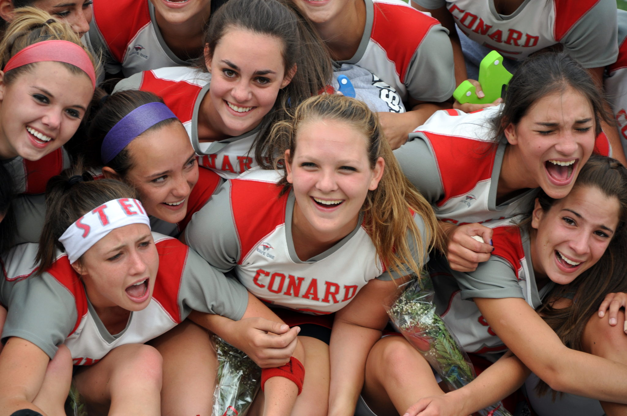 Portrait Photography - Lacrosse Girls Game - Conard High School