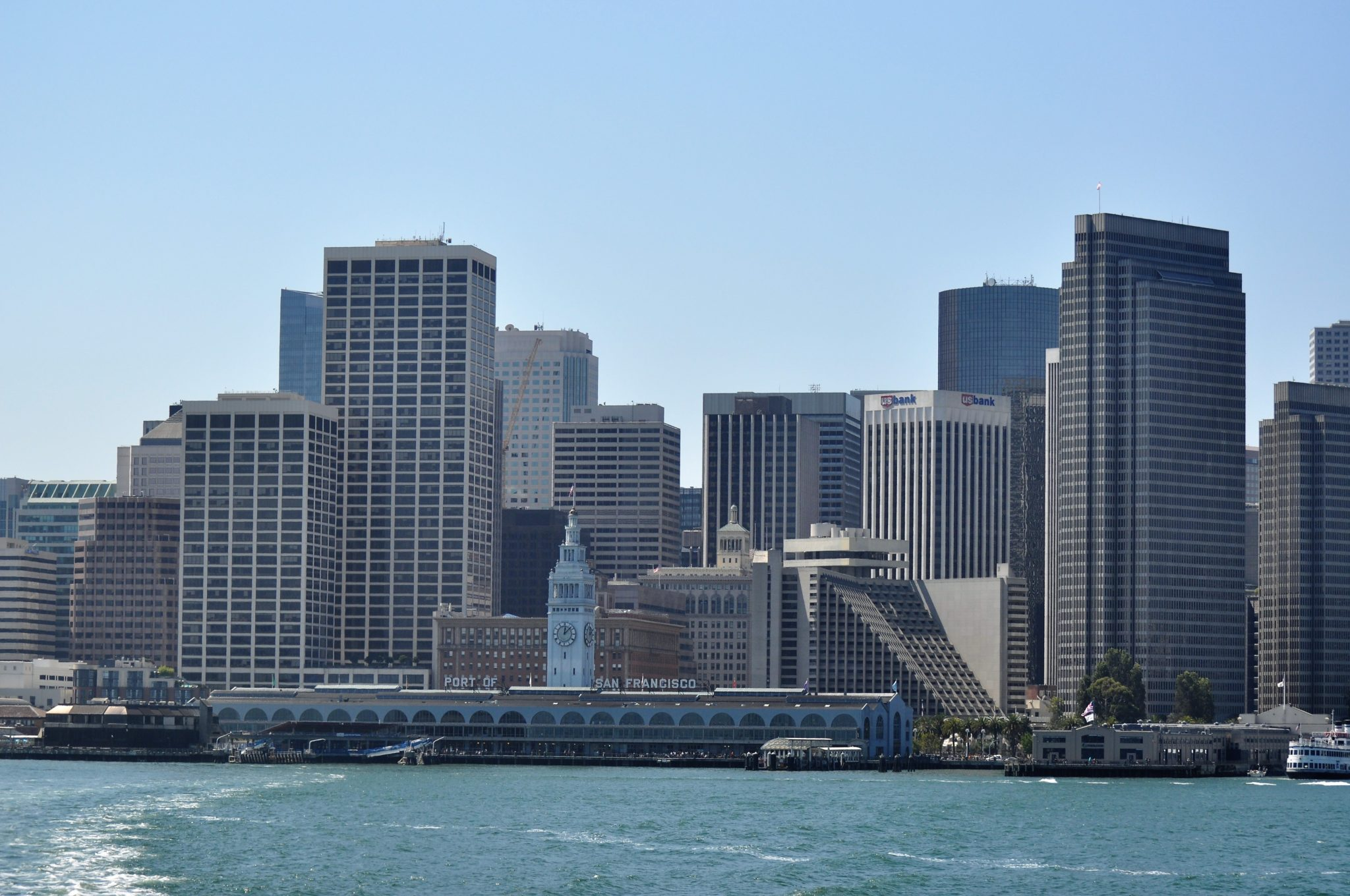 San Francisco Bay, City Scape, Architecture